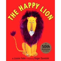 the happy lion book cover