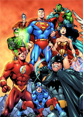 DC comicbook heroes