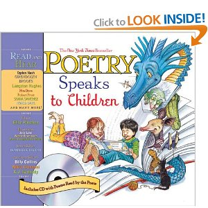 poetry speaks to children book cover